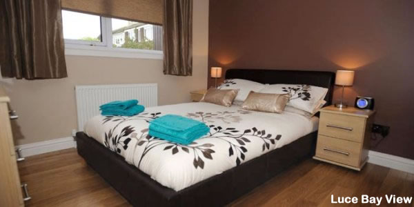 Luce Bay View Self Catering | Double Bedroom