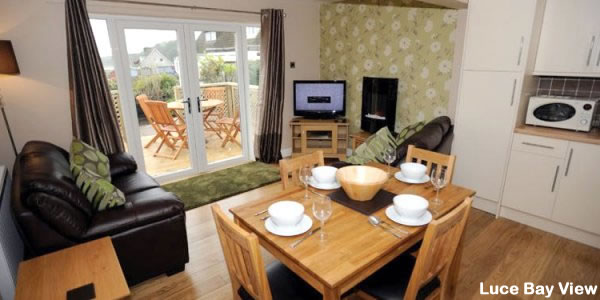 Luce Bay Self Catering | Lounge / Dining Room