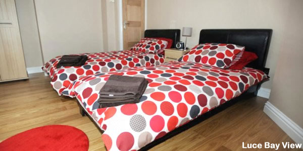 Luce Bay Self Catering | Twin Bedroom
